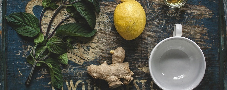 tisane gingembre citron