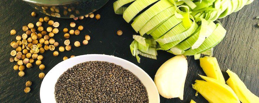 recette graines de chia