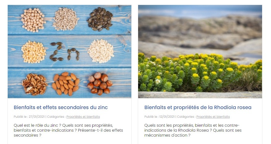 blog nutraceutique