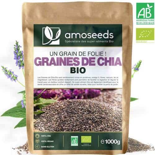 acheter graines chia bio