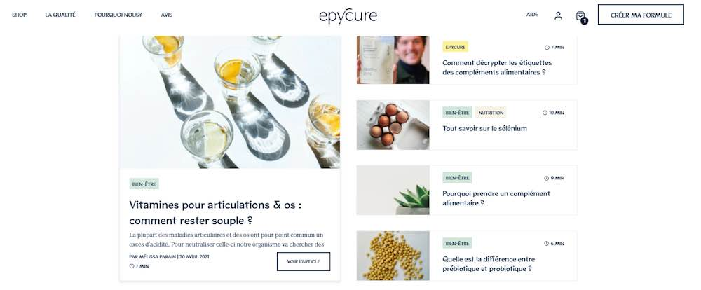blog epycure