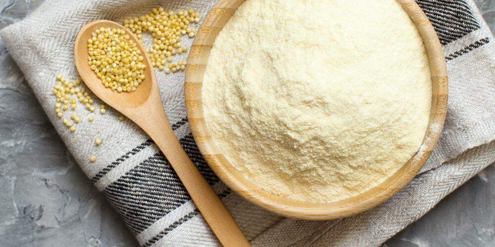 La farine de millet, nutritive et sans gluten