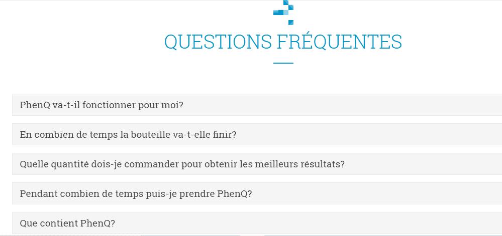 FAQ PhenQ
